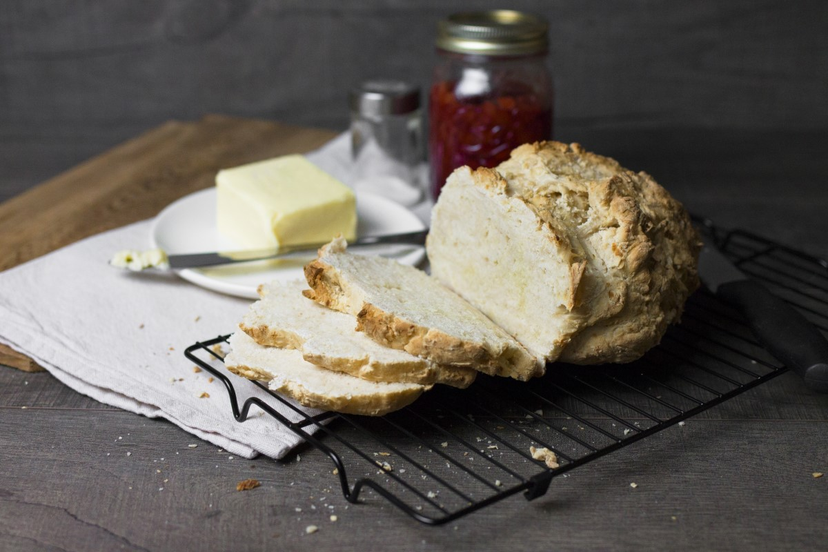 Smoky Irish Soda Bread