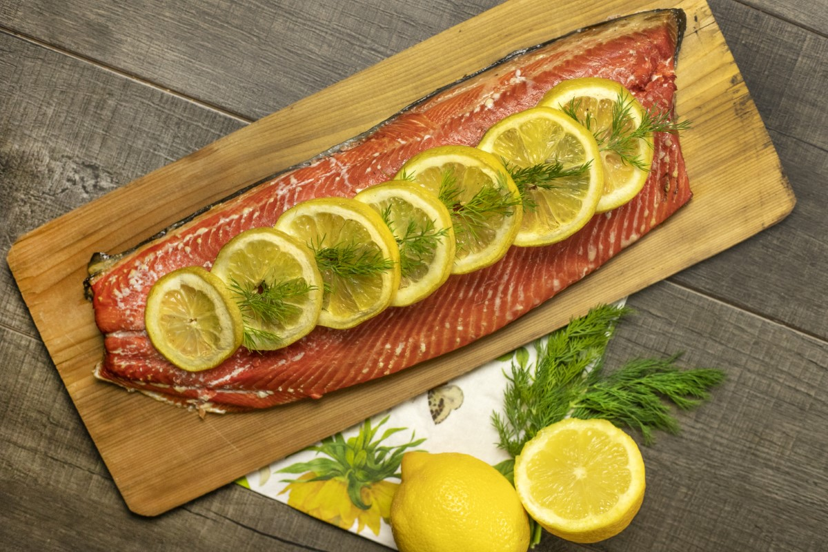 Lemon Smoked Salmon