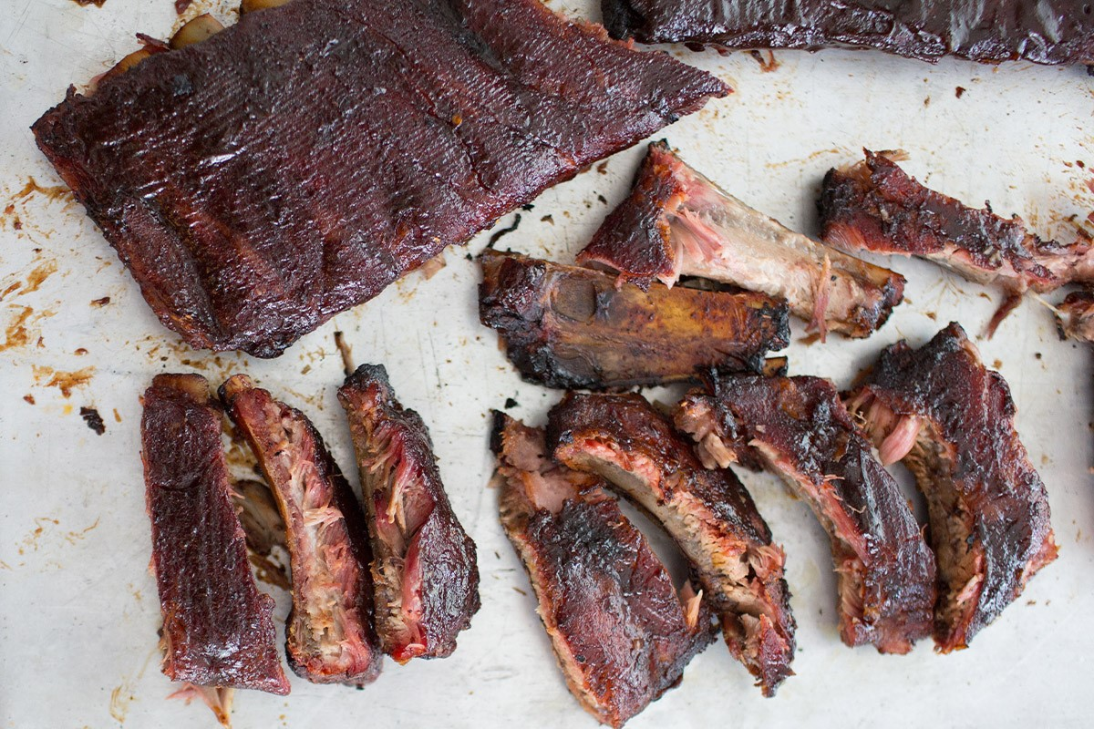 Raspberry Chipotle Pork Ribs