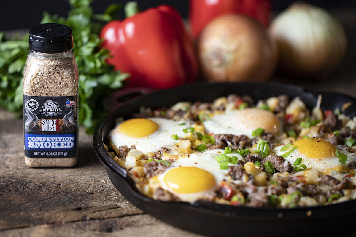 Smoked Sausage Breakfast Skillet Pit Boss Grills Recipes
