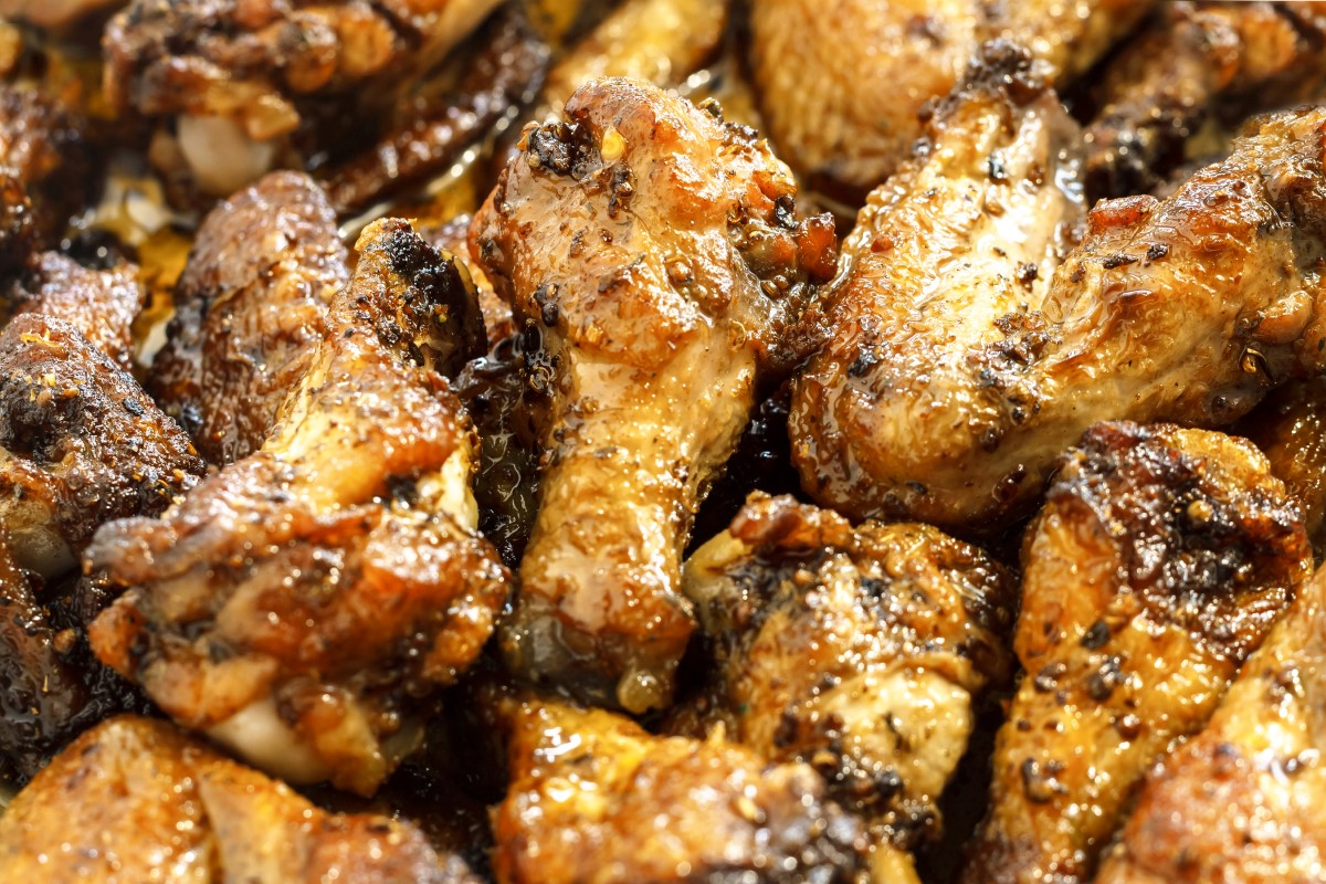 Lemon Pepper Chicken Wings