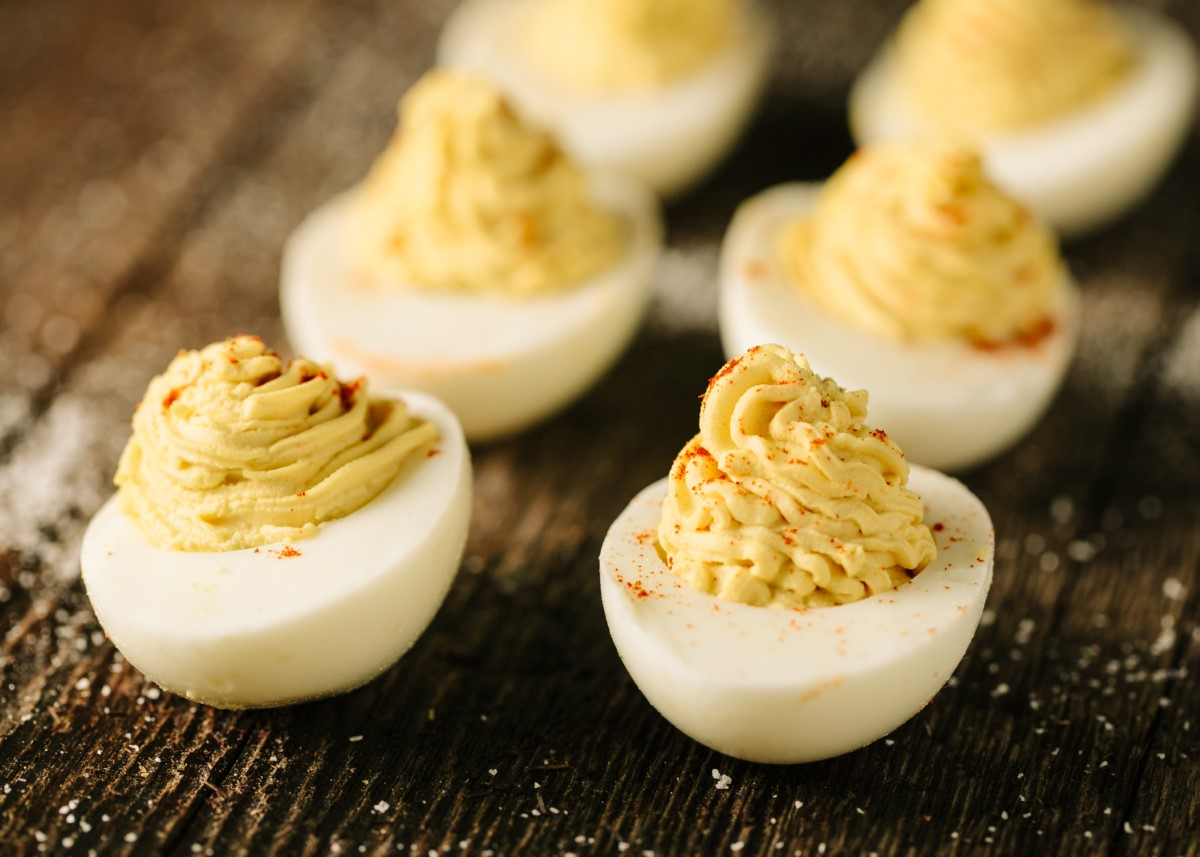 Smoked Paprika Deviled Eggs