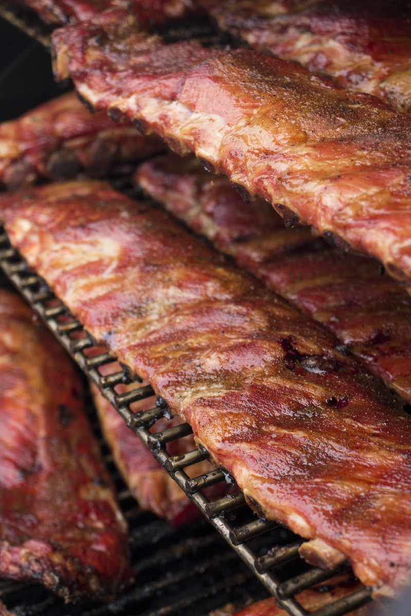 Basic Smoked Ribs