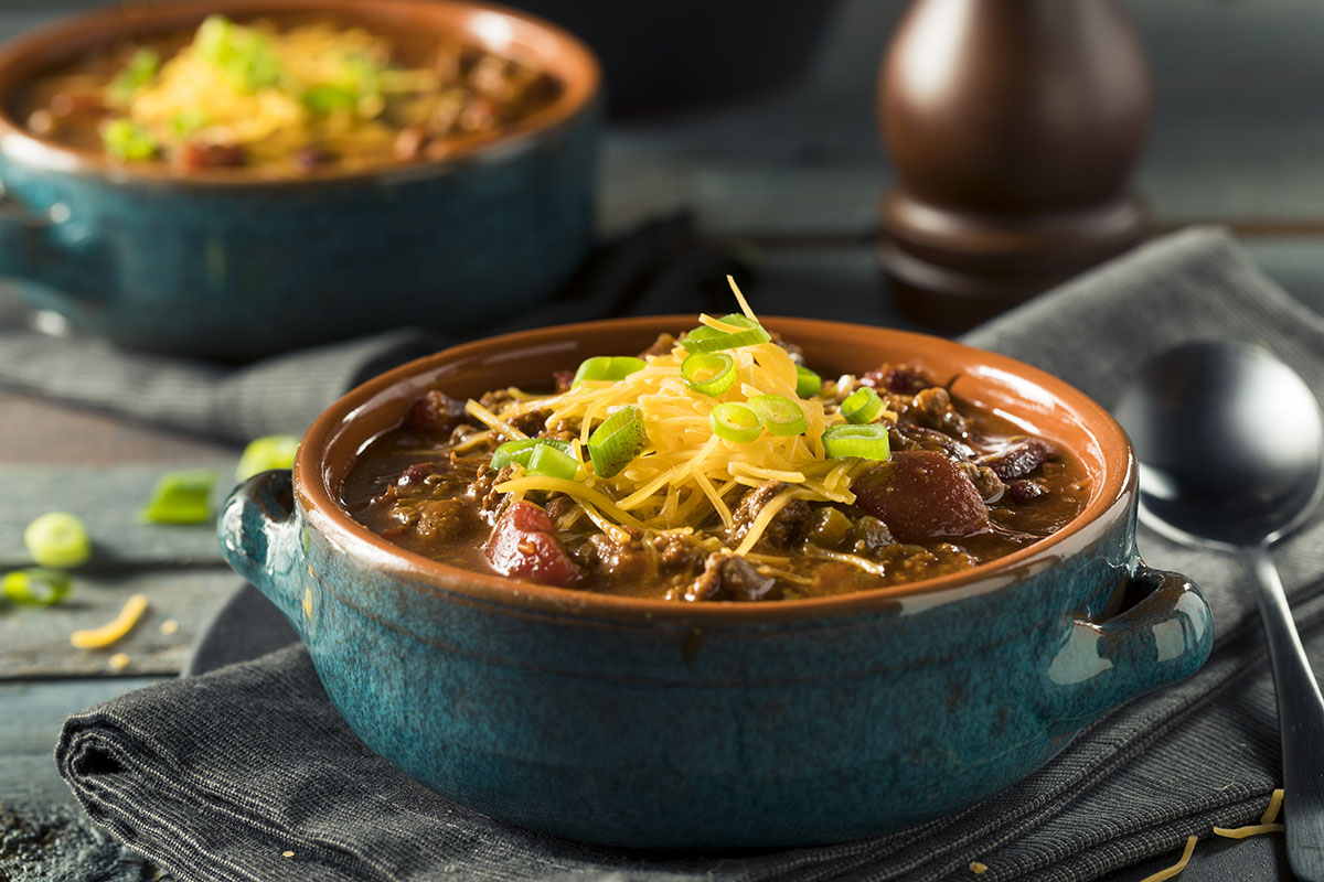 Smoked Elk Chili with Chorizo