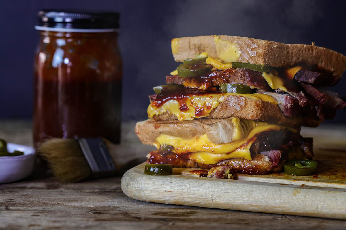 Brisket Grilled Cheese