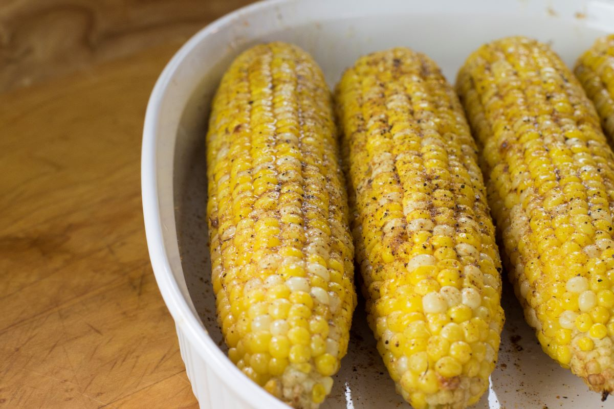 Fire-Roasted Street Corn