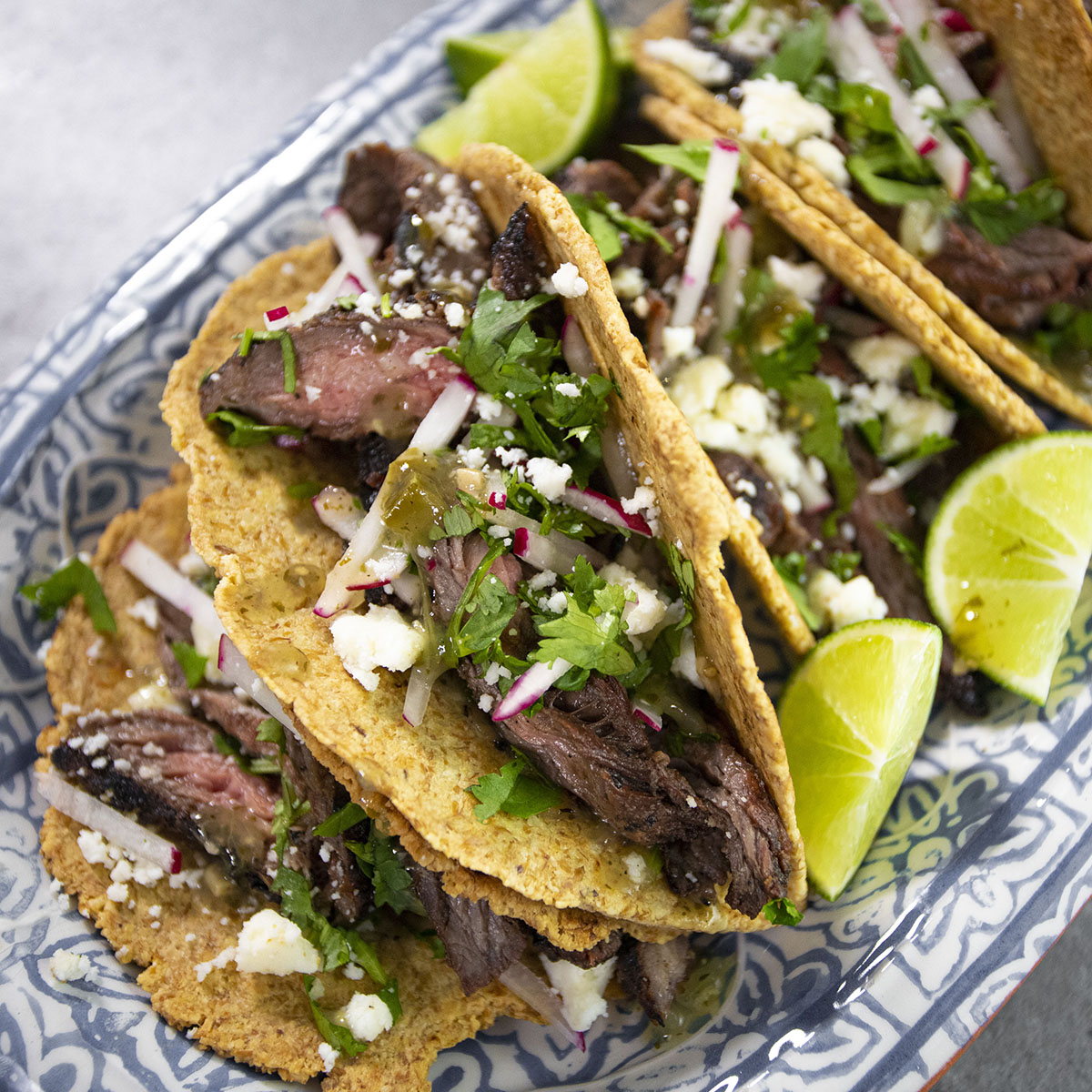 Carne Asada with Low-Carb Smoked Tortillas