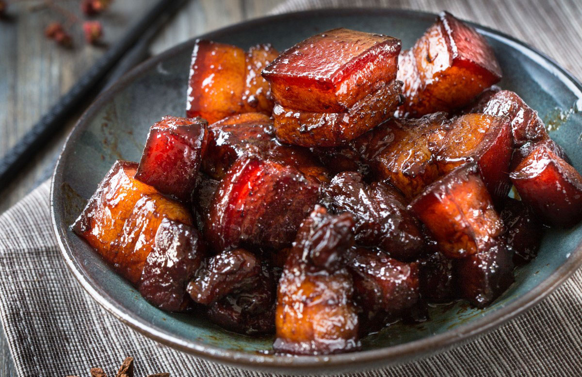 Sticky Barbecue Pork Belly Burnt Ends