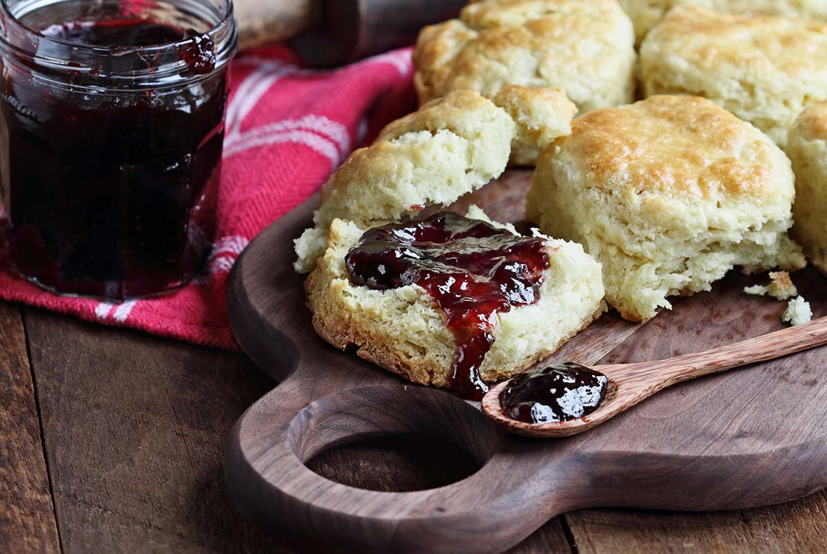 Smoked Almond Flour Biscuits