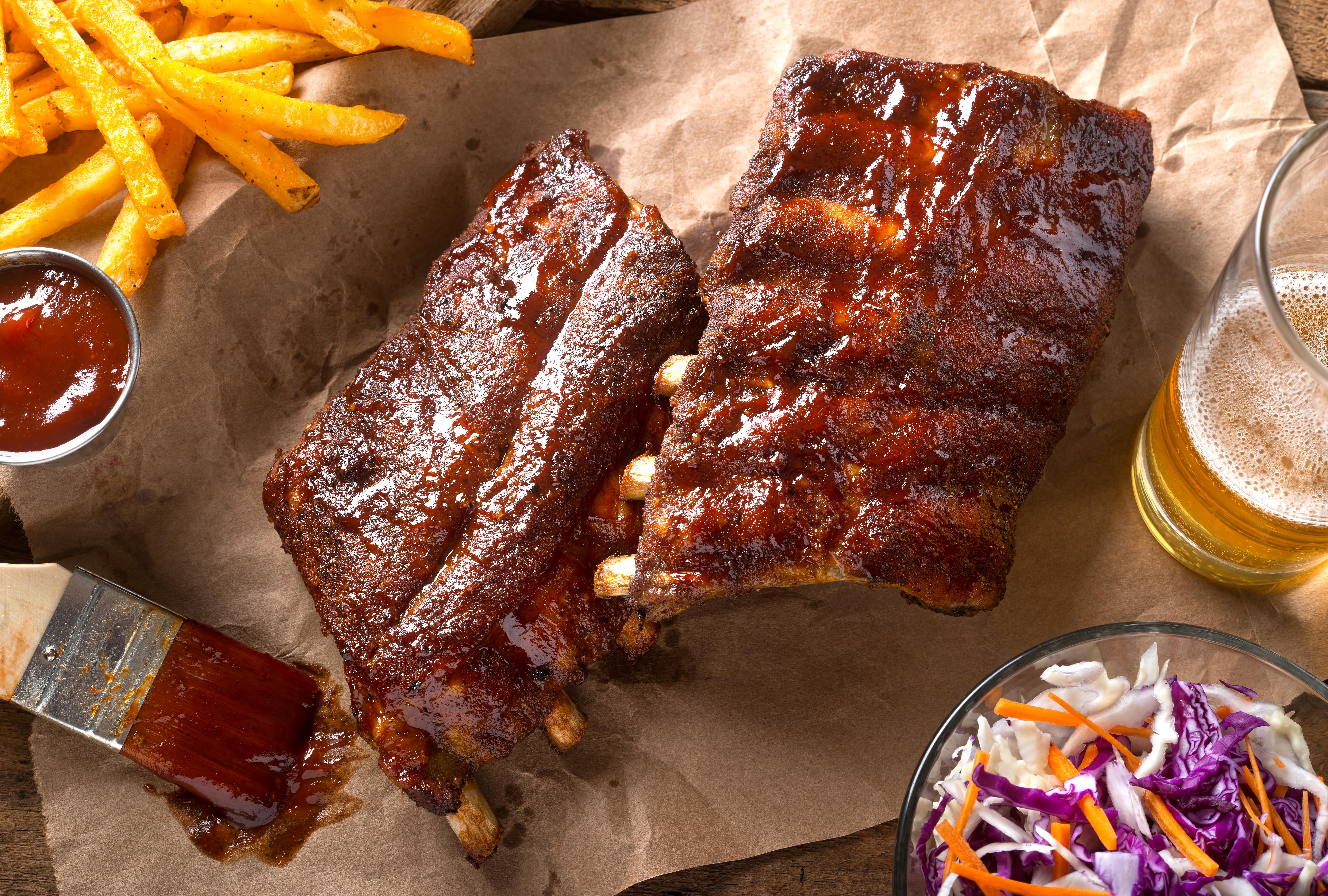 Sweet & Sour Smoked Baby Back Ribs
