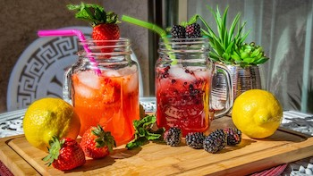 Smoked Berry Lemonade Recipe