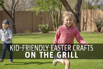 Kid-Friendly Easter Crafts on The Grill