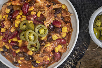 Texas smoked rib chili