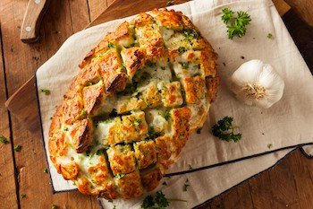 Cheesy Garlic Pull Apart Bread