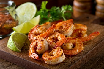 Grilled Spicy Lime Shrimp
