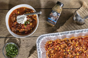 Smoked Brisket Chili