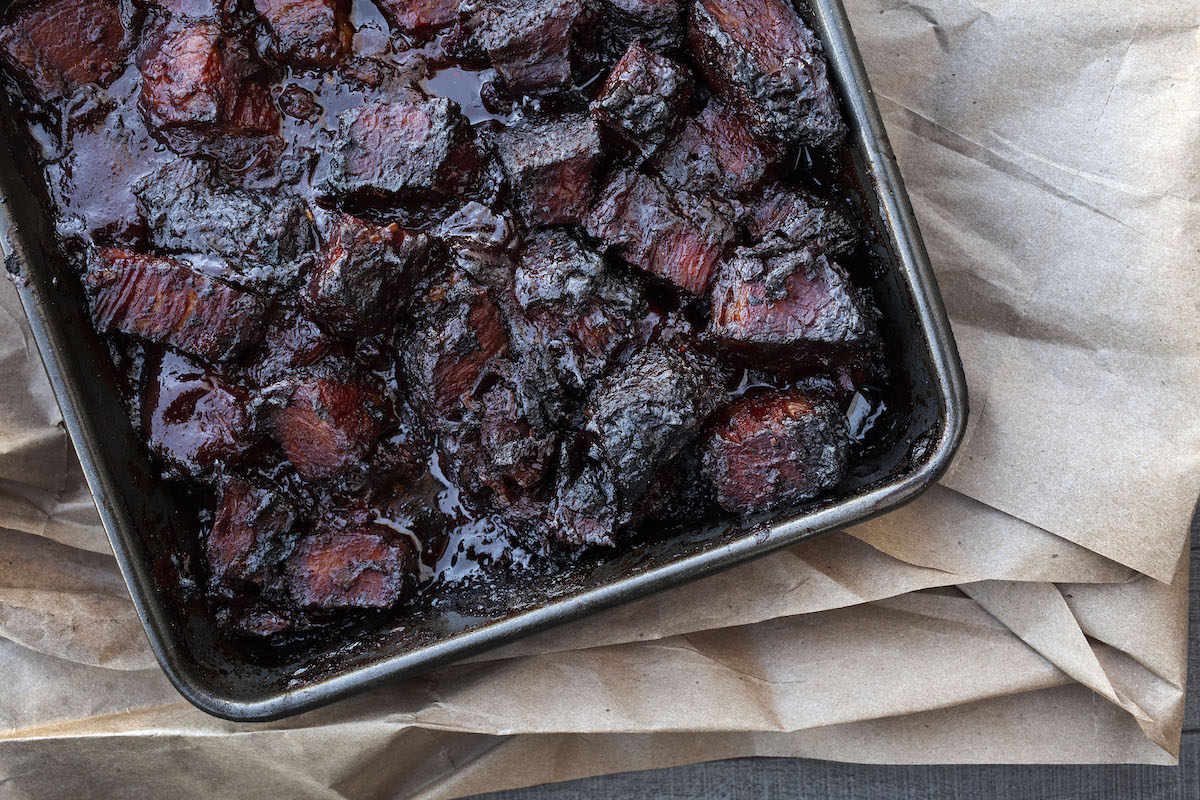 BBQ Brisket Burnt Ends