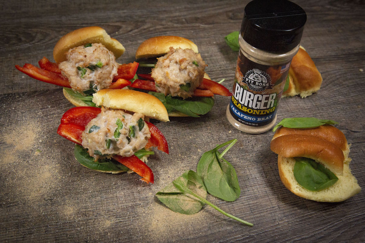 Chicken Pepper Sliders