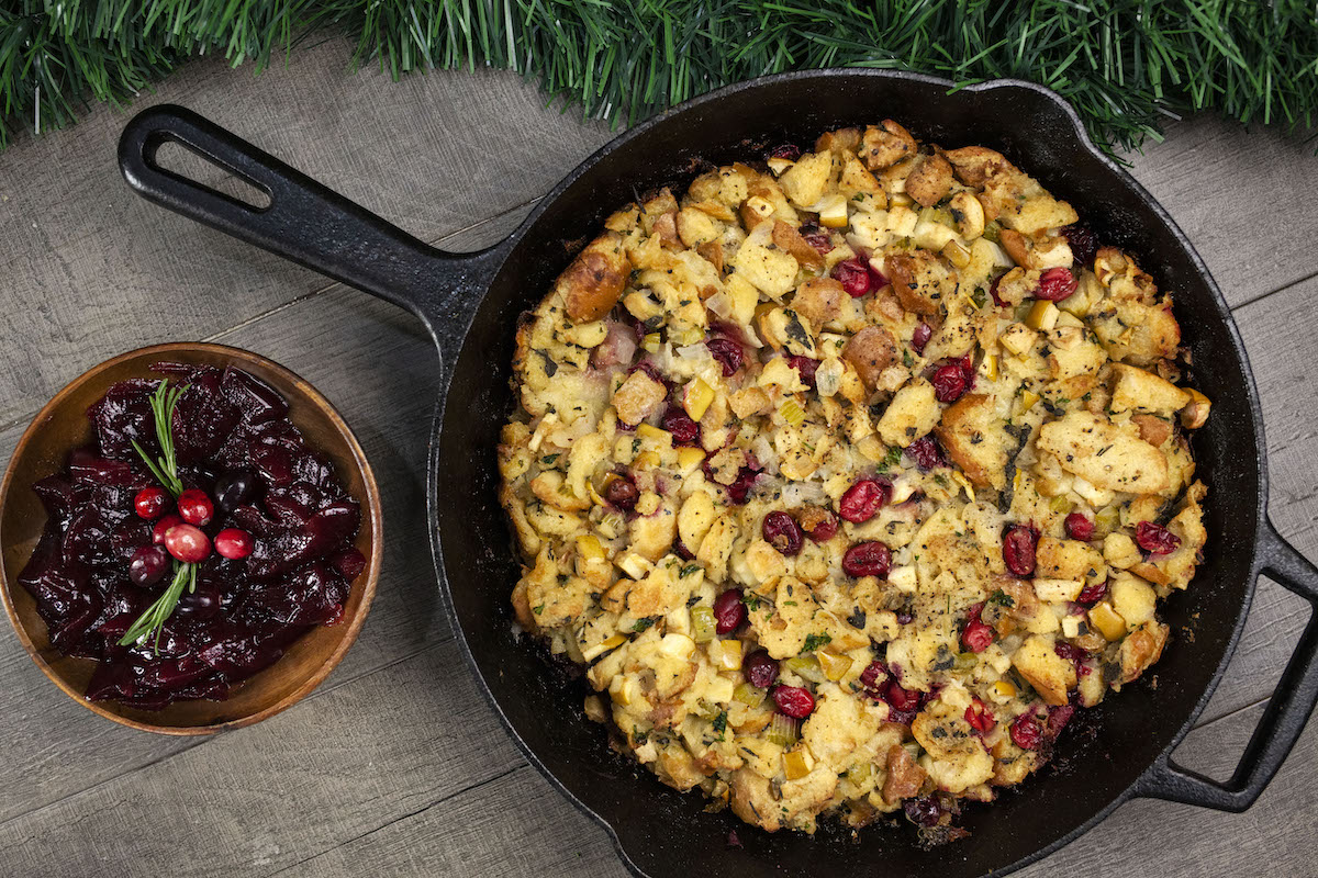 CRANBERRY APPLE SAGE STUFFING