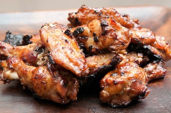 Grilled Sweet Heat Chicken Wings