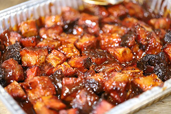 slow cooked burnt ends