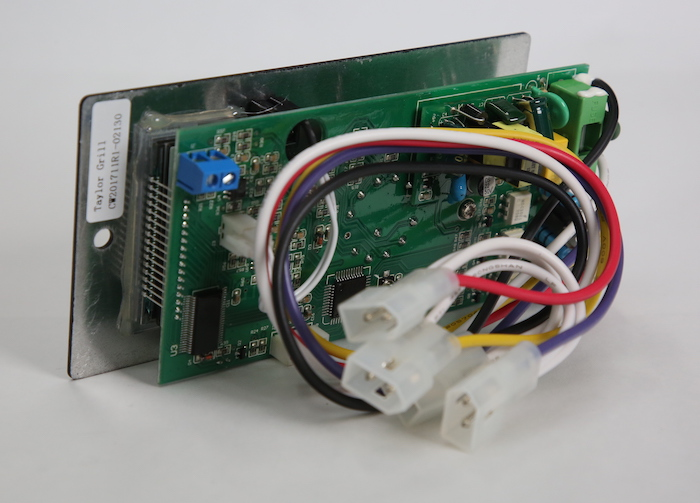 Control board (PID - meat probe option)