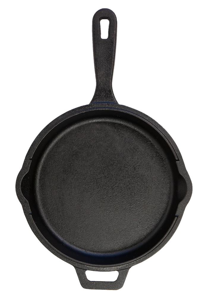 Pit Boss 12in Deep Cast Iron, Lid, and 10in Skillet
