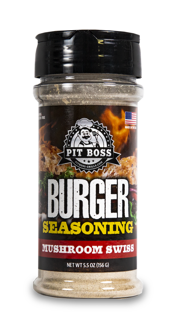 NEW! Mushroom Swiss Burger Seasoning